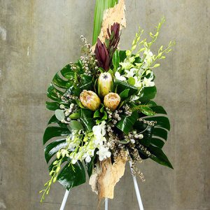 Natural Funeral Floral Tribute