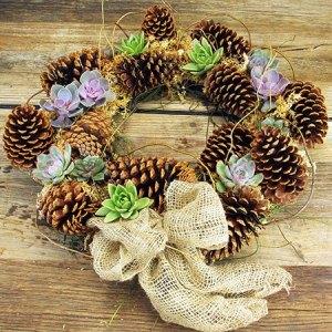 Organic Xmas Wreath (Sydney Only)