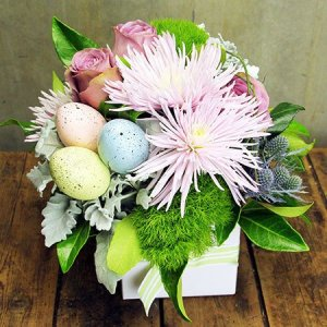 Easter gift ideas flowers and chocolate eggs delivered flowers featured product negle Image collections
