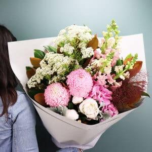 Pastel Pink Summer Bouquet