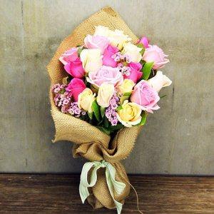 Pastel Summer Roses (Sydney Only)