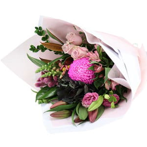 Pink Garden Bouquet Delivered Sydney