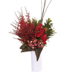 Premium Red Tropical Vase