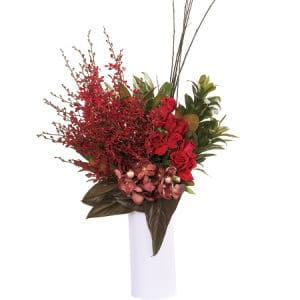 Premium Red Tropical Vase