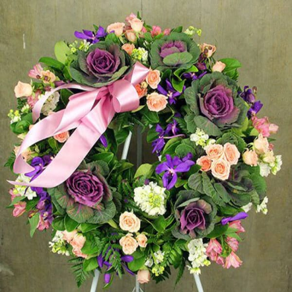Pretty Floral Sympathy Tribute
