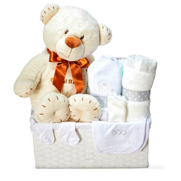 Monsieur Bear Baby Hamper