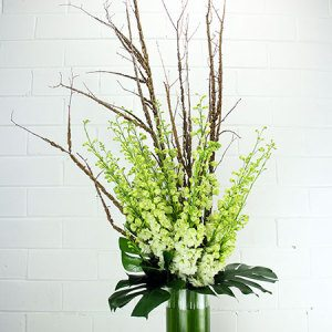 Classic Tall Front Facing Vase Arrangement Portfolio