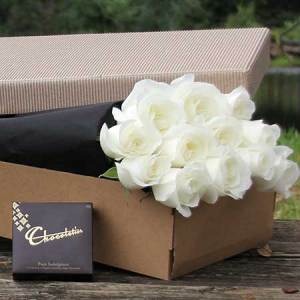 White Roses and Chocolate