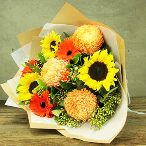 Summer Cheer Flower Bouquet