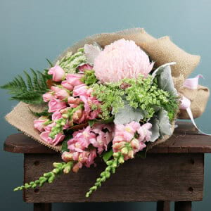 Pink Seasonal Summer Bouquet