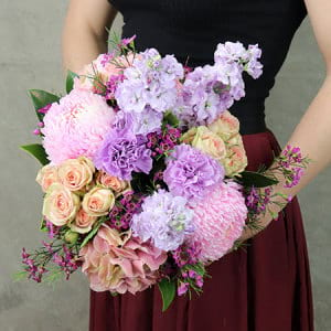 The Frilly Pastel Posy
