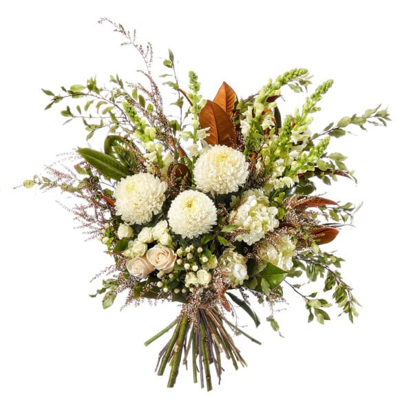 Timeless White Flower Bouquet