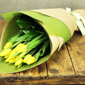 Bright Tulip Bouquets (Sydney Only)