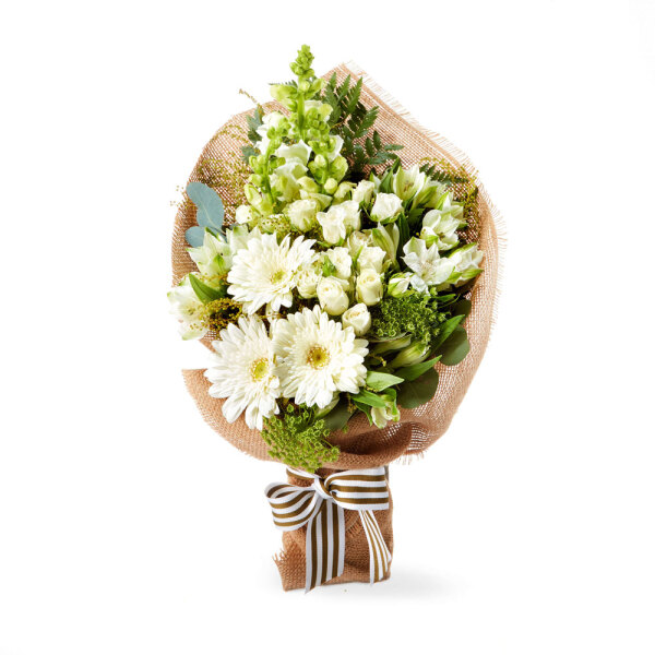 Sweet White Posy Flower Delivery Flowers For Everyone