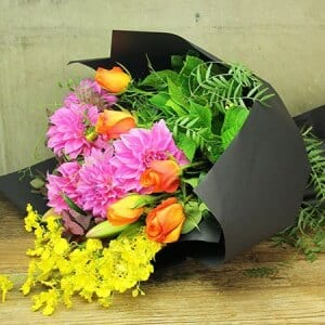 Vibrant Autumn Bouquet of Flowers Delivered Sydney