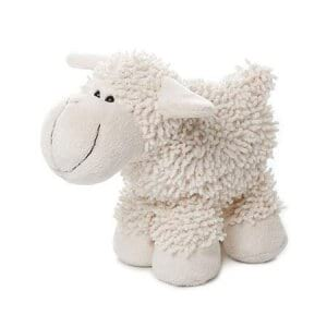 Cute White Lamb (17cm)