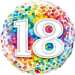 Happy 18th Birthday Balloon