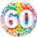 Happy 60th Birthday Balloon