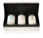 Ecoya Trio of Candles Lotus Flower, French Pear, Sweet Pea & Jasmine