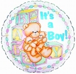 Its a Boy balloon!