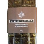 Kennedy and Wilson Milk & Dark Chocolate with Coffee (100g) Gluten Free