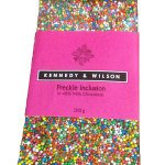 Kennedy and Wilson Milk Chocolate Freckle Bar (100g) Gluten Free