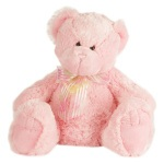 Small Pink Teddy (approx 13cm )
