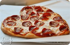 Love Heart Pizza