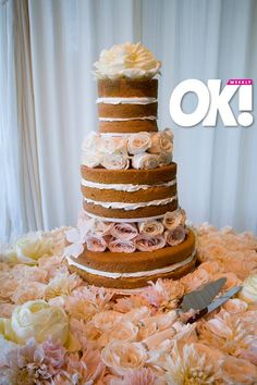 Hillary Duff wedding cake