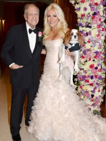 Hugh Hefner wedding