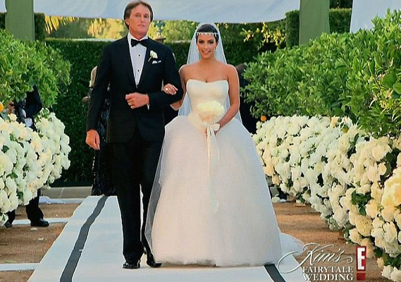 Kim Kardashian wedding number 1