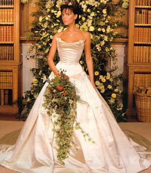 Victoria Beckham wedding flowers