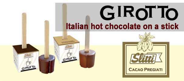 Girotto Hot Chocolate on a Stick