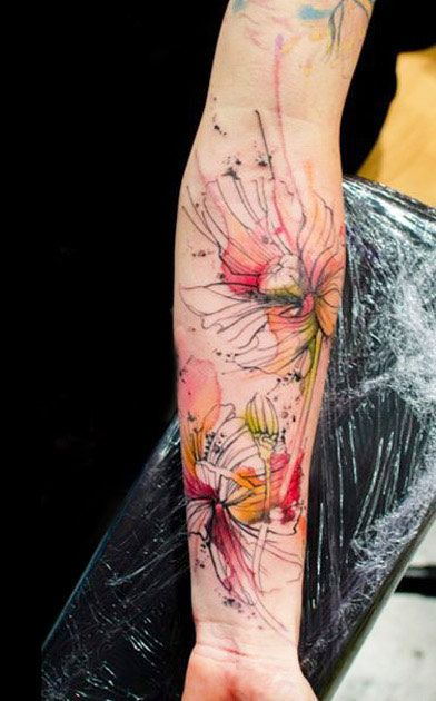 flower tattoo 10