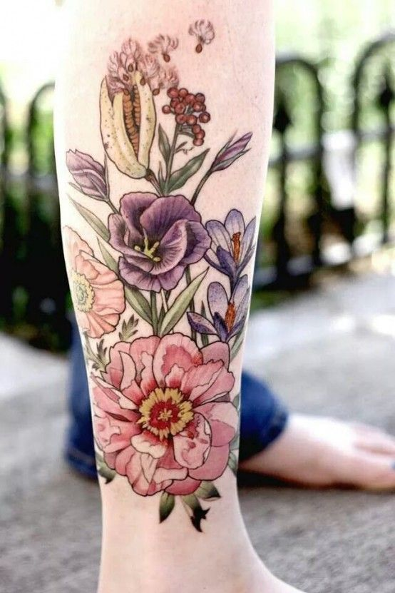 flower tattoo 7